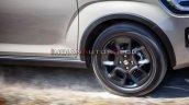 2020 Maruti Ignis Facelift Alloy Wheel Leaked Imag