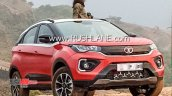 2020 Tata Nexon Facelift Spied New Sunroof Confirm