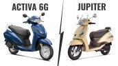 Honda Activa 6g Vs Tvs Jupiter Classic