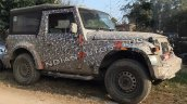 2020 Mahindra Thar Spied Images 2