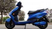 Battre Loev E Scooter Blue Left Side