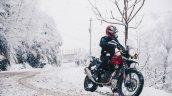 Bs Vi Royal Enfield Himalayan Rock Red Outdoor 4