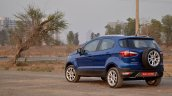 Ford Ecosport Petrol At Review Rear Angle View