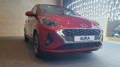 2020 Hyundai Aura Exterior Static Front Quarters 5