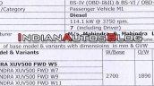 Bs Vi Mahindra Xuv500 9c1a