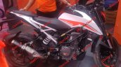 Bs Vi Ktm 390 Duke White Side Profile