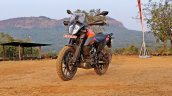 Ktm 390 Adventure Review Stills Left Front Quarter