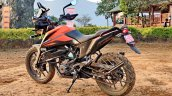 Ktm 390 Adventure Review Stills Left Rear Quarter