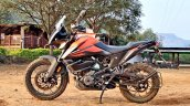 Ktm 390 Adventure Review Stills Left Side