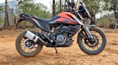 Ktm 390 Adventure Review Stills Right Side