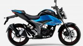 Japanese Spec Suzuki Gixxer 150 Black Blue Right S