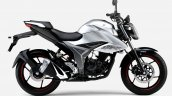Japanese Spec Suzuki Gixxer 150 Black Silver Right