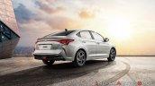 2020 Hyundai Verna Facelift Rear Three Quarters Ri