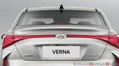 2020 Hyundai Verna Facelift Tail Lamps 569b