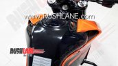 Bs Vi Ktm 200 Duke Spied Instrument Cluster