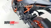 Bs Vi Ktm 200 Duke Spied Left Rear Quarter