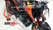 Bs Vi Ktm 200 Duke Spied Right Front Quarter