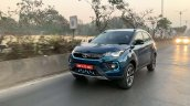 Tata Nexon Ev Image Front Three Quarters Action 2