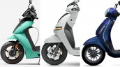 Ather 450x Vs Chetak Electric Vs Tvs Iqube Tech Sp