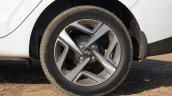 Hyundai Aura Review Images Alloy Wheels