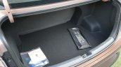 Hyundai Aura Review Images Boot Space 2