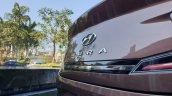 Hyundai Aura Review Images Bootlid Badge 4
