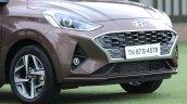 Hyundai Aura Review Images Front Angle