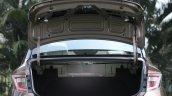 Hyundai Aura Review Images Interior Boot Space