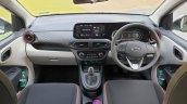 Hyundai Aura Review Images Interior Dashboard Turb