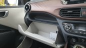 Hyundai Aura Review Images Interior Glove Compartm