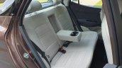 Hyundai Aura Review Images Interior Rear Seats 3
