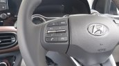 Hyundai Aura Review Images Interior Steering Contr