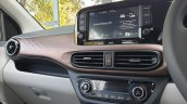 Hyundai Aura Review Images Interior Touchscreen In