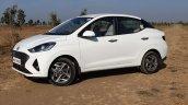 Hyundai Aura Review Images Side Profile 4
