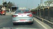 Indian Spec 2020 Vw Passat Facelift Rear Spy Shot