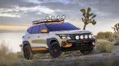 Kia Seltos X Line Trail Attack Concept Front Three