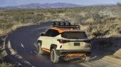 Kia Seltos X Line Trail Attack Concept Rear Three