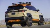 Kia Seltos X Line Trail Attack Concept Rear Threee