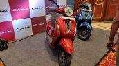 Bajaj Chetak Premium Red And Blue 5eee