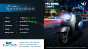 Eeve 4u Electric Scooter Spec Sheet Add7