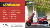 Eeve Xeniaa Electric Scooter Spec Sheet 2cb5