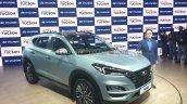 2020 Hyundai Tucson Facelift Front Three Quarters