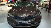 2020 Skoda Superb Facelift Front Auto Expo 2020