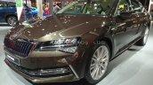 2020 Skoda Superb Facelift Front Three Quarters Au