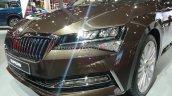 2020 Skoda Superb Facelift Headlamp Auto Expo 2020