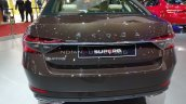 2020 Skoda Superb Facelift Rear Auto Expo 2020
