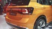 2021 Vw Taigun Rear Fascia Auto Expo 2020