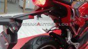 Auto Expo 2020 Hero Electric Ae 47 Motorcycle Tail
