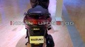 Bs Vi Suzuki Burgman Street Red Auto Expo 2020 Rea