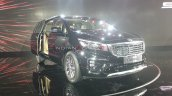 Kia Carnival Front Three Quarters Auto Expo 2020